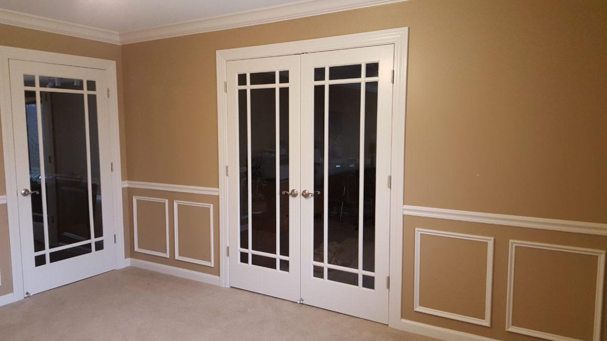 Build Wall U0026 Install French Doors